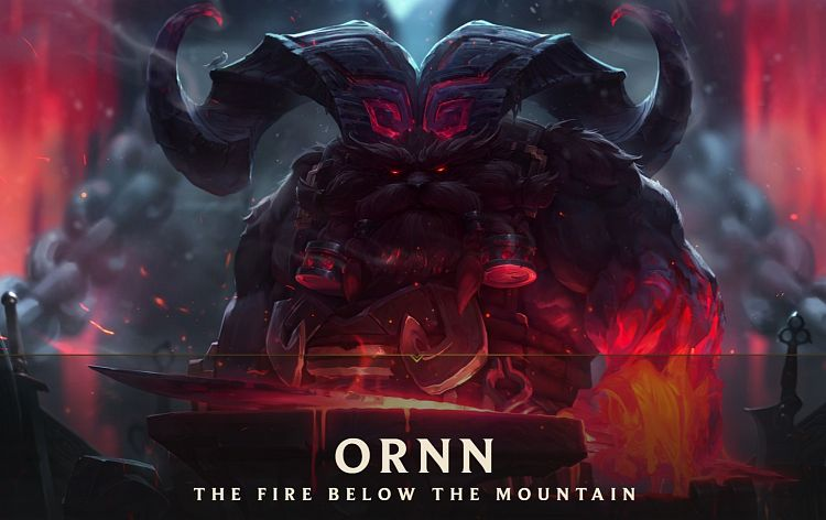 Nový šampion - Ornn, the Fire Below the Mountain