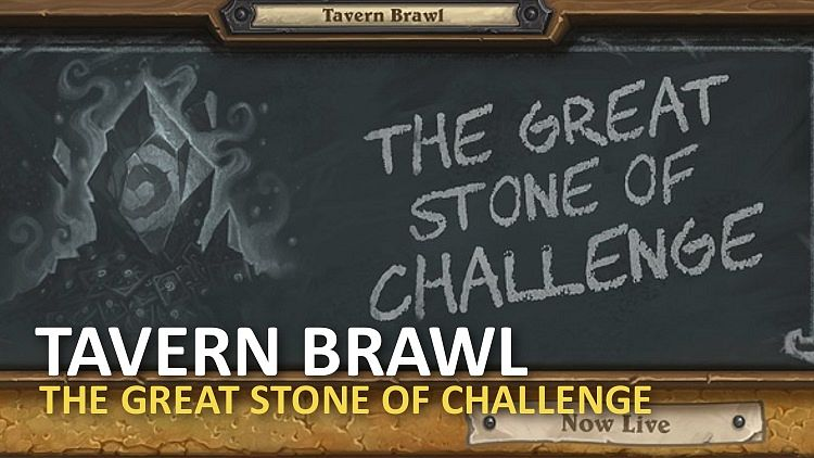 Nový Tavern Brawl je The Great Stone of Challenge!