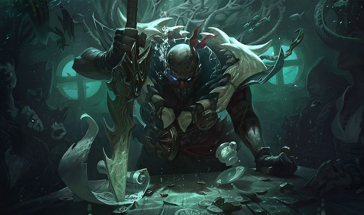 Nový šampion: Pyke - the Bloodharbor Ripper